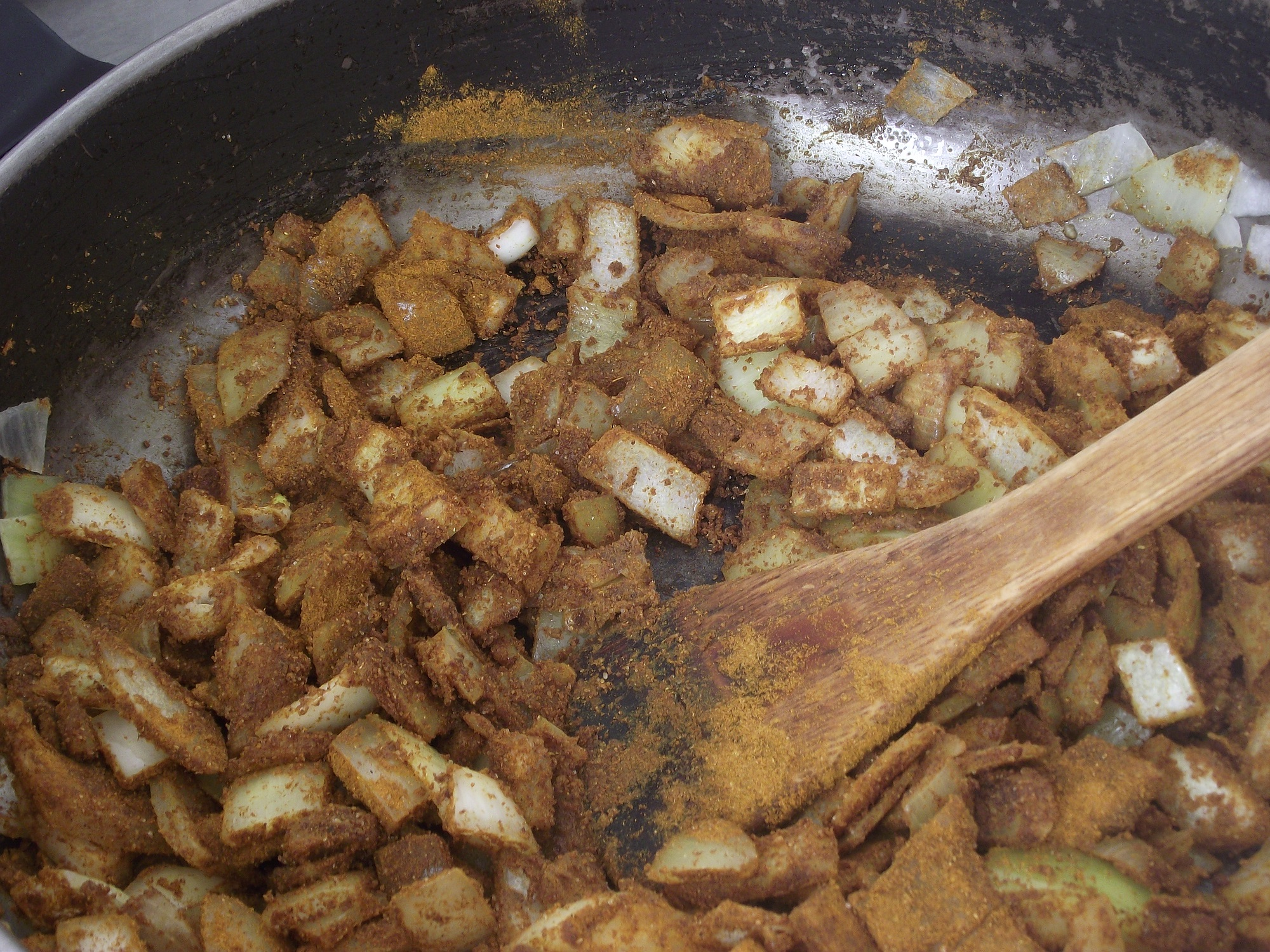 Onions and Curry Powder